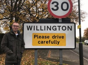Candidate Ian Hudson for Willington Parish Councillor
